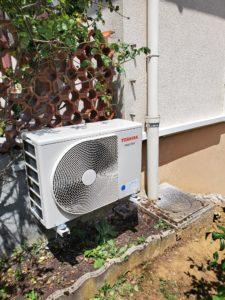 Groupe extérieur de climatisation Nancy toshiba
